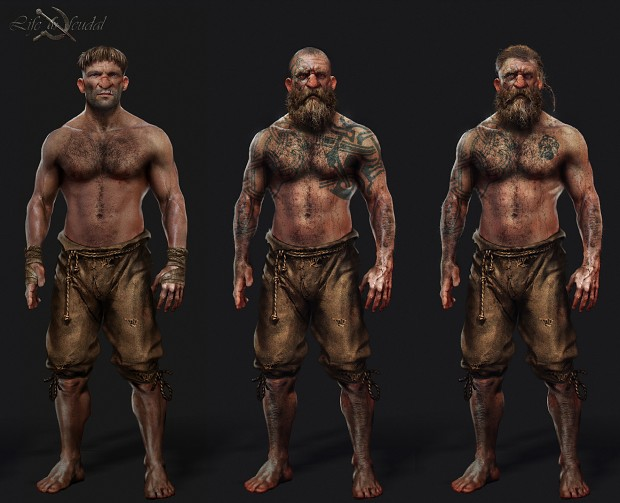 Concept Art - we wouldn't want to meet these down a dark alley