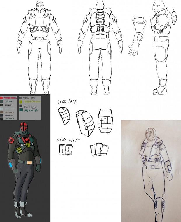 Berrano soldier Concept