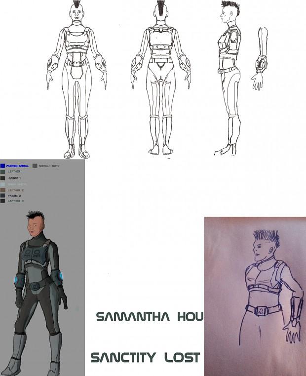 Samantha Houser Concept