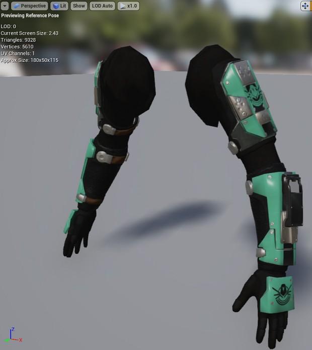FPS Arms in Viewport