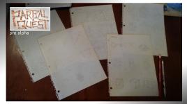 Partial Quest - papercraft makeover prototype