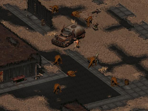 Dungeon location screenshot