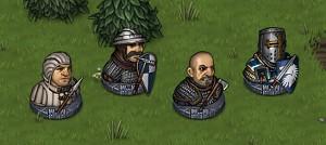 Men-at-Arms troops