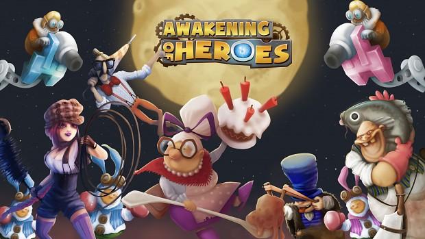 Awakening of Heroes - Cover
