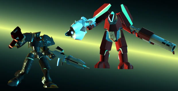 Two new mechs!