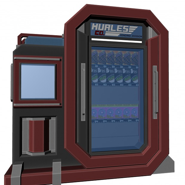 Hurles Co. vending machine