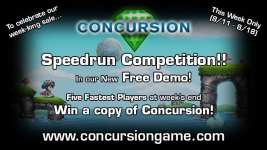 Concursion Free Demo Speedrun Contest