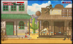 Saber Rider and the Star Sheriffs - Video Game Screenshots
