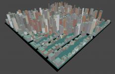 Procedural city