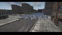 The Hit crowd test - 5,000 NPCs