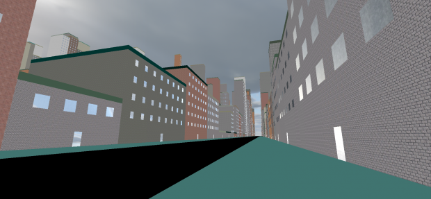 Walking through the procedural city
