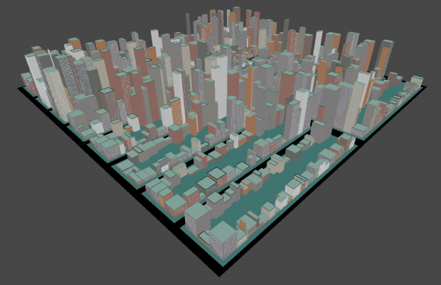 Procedural city image - The Hit - Mod DB