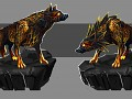 The Lava Wolf!