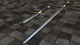 New Render Claymore