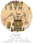 Undead Bots Main Illustration WiP1