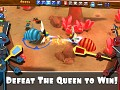 Defeat the queen to win!