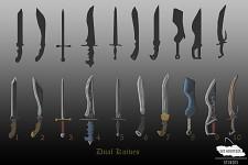 Concept Art: Dual Knives