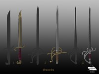 Concept Art: Updated Swords