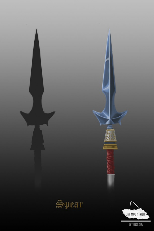 Concept Art: Updated Spear