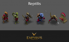 Reptilis Race