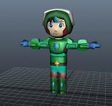 Omega Armor Model