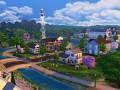 The Sims 4 Rocket in Flight