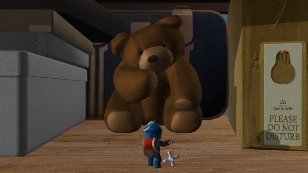 Confronting Mr. Bear