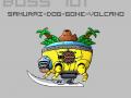 The Samurai Doggone Volcano