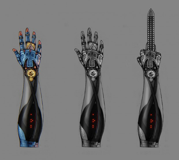 Hypetech Excalibur Prosthetic, Series 9