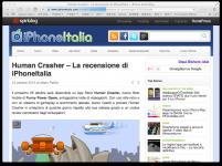 Human Crasher Review iPhoneItalia