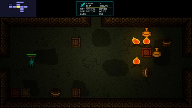 Dungeon 2, torches