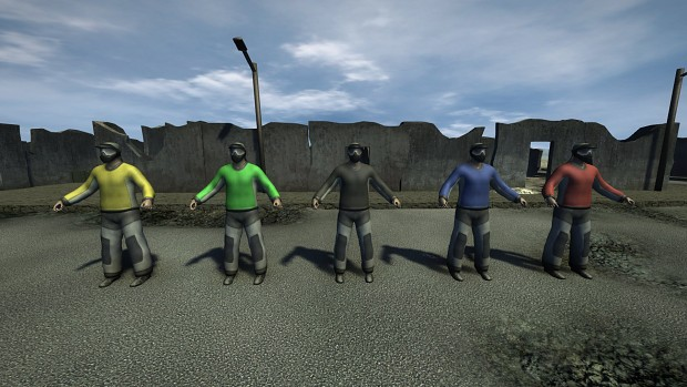 paintball player skins preview
