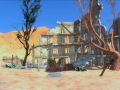 The SKIES: Kimari's buildings