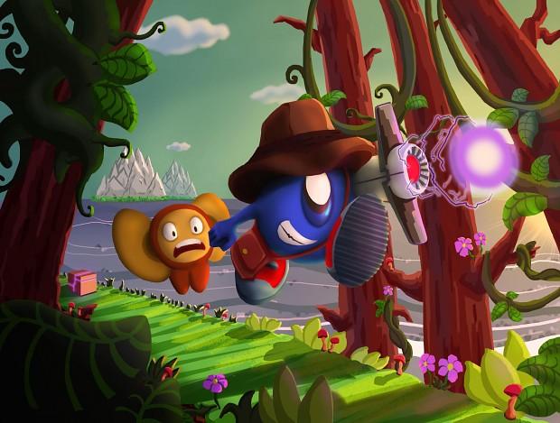 Balloon & Moonkey HD