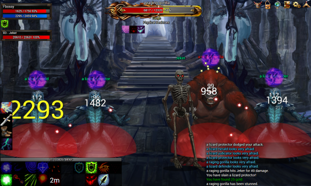 A necromancer uses corpse explosion image - Nevergrind - Mod DB