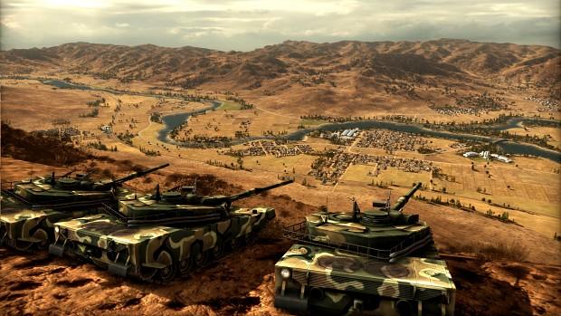Wargame: Red Dragon screenshots