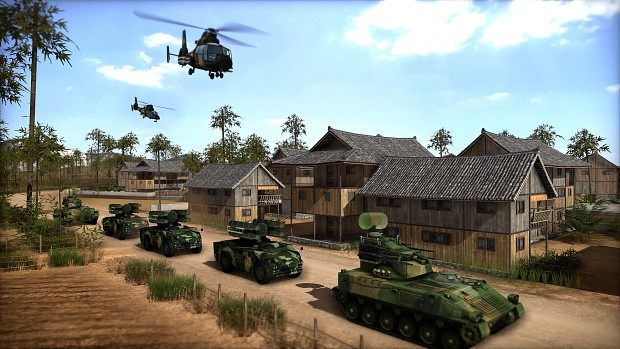 Wargame: Red Dragon screenshots