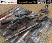 Wasteland Sniper Gun