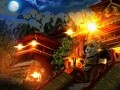 Panda Bomber in Dark Lands