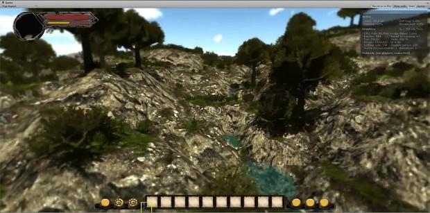 Water update transparent shader
