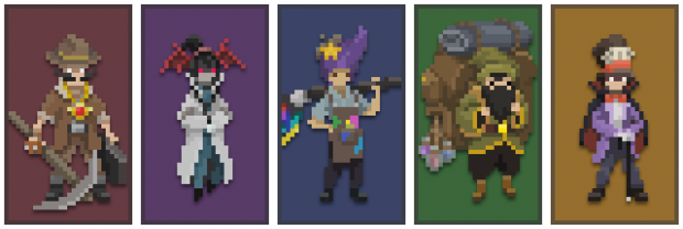 Various Friends You Will Encounter in Wizard of Legend!