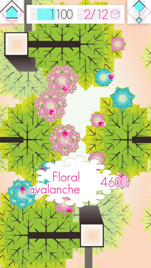 Flower chain 3 (phone view)