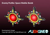 Space Mobile Bomb Model