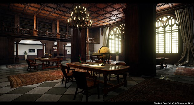Library location in our game