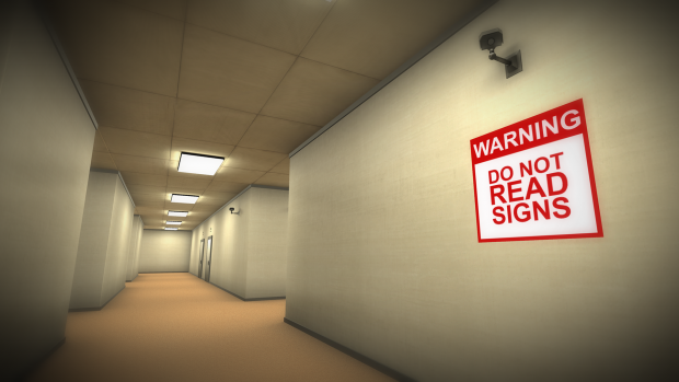 Do not read signs