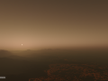 Volcanic Planet Texture WIP and Development - With Emissive