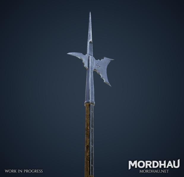 WIP Halberds & Arming Swords