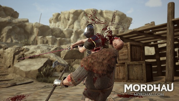 decapitation image - mordhau