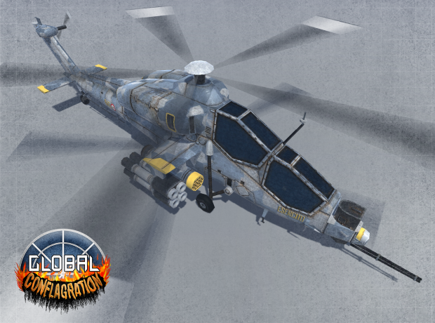 A129 Mangusta - EU Attack helicopter