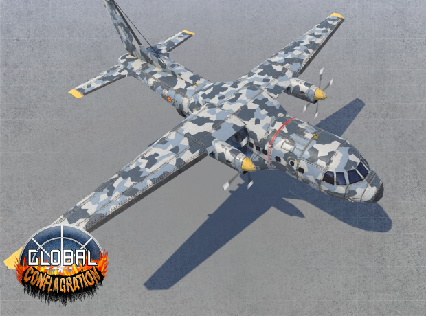 CN-235 - EU Gunship (Remastered)
